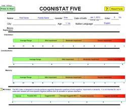 Cognistat Five